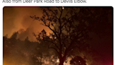 Napa County fire with 'dangerous rate of spread' forces evacuations