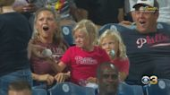 Young Phillies Fan Goes Viral After Giving Foul Ball To Crying Girl