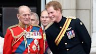 Prince Harry in the UK for Prince Philip's Funeral