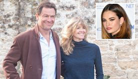 Dominic West 'vows to make it up to wife Catherine after Lily James kiss'