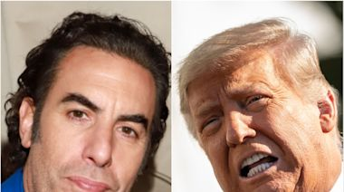 Sacha Baron Cohen says Trump needs to be banned from YouTube permanently to 'prevent more violence'