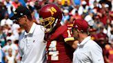 Washington Football Team places QB Ryan Fitzpatrick on injured reserve with hip injury