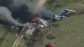 驚魂!美德州客機起飛撞圍欄墜毀狂燒 21人全數逃出僅2輕傷