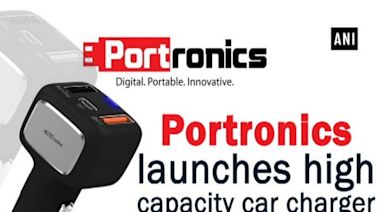 Portronics launches high capacity car charger