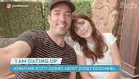 Jonathan Scott Gushes Over Relationship with Zooey Deschanel: 'I Know I'm Dating Up'
