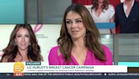 Elizabeth Hurley reveals how she helped to save her friends' lives