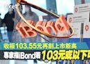 【iBond 2020】iBond收103.55元再創上市新高 專家指103元或以下可收集 - 香港經濟日報 - 即時新聞頻道 - 即市財經 - Hot Talk