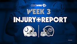 Colts vs. Titans: Updated injury reports for Week 3