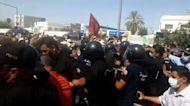 Tunisia on edge as president suspends parliament