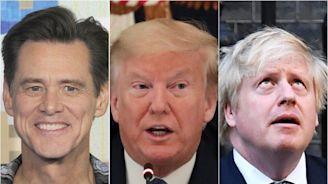Donald Trump, Boris Johnson Get Movie Makeover In Jim Carrey's Coronavirus Art