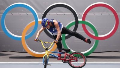 Olympics-Cycling-Venezuelan veteran Dhers is down with the young dudes