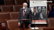 Hoyer displays image of Marjorie Taylor Greene holding gun in Facebook post and asks colleagues, 'Tell me what message you think it sends'