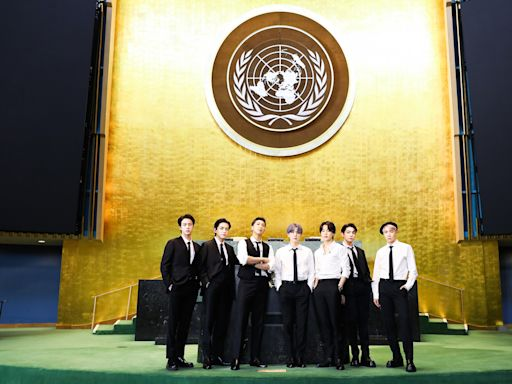BTS Talk Climate Change, COVID-19 at UN: Watch the Full Speech & Performance