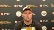 TJ Watt speaks with media at Steelers minicamp in 2021