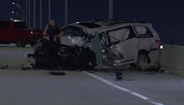 Girl survives dad's fatal wrong-way crash, deputies say