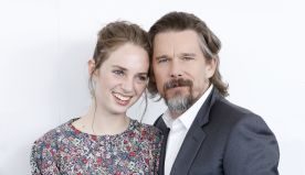Please Enjoy Ethan Hawke and His Lookalike Kids' Jam Session