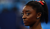 Simone Biles won't defend Olympic title at gymnastics all-around final in Tokyo