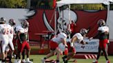 Tampa Bay Buccaneers OL Alex Cappa 'Not Holding Back' in Training Camp