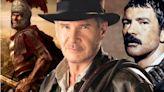 'Indiana Jones 5' Set Photos Go Time Traveling with Roman Gladiators and Antonio Banderas