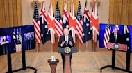 Biden on Indo-Pacific Security Pact With U.K., Australia