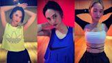 楊丞琳三套健身造型,充滿時尚與運動風的搭配,你更喜歡哪一套?