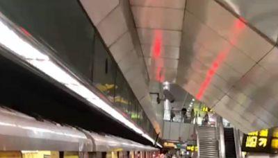 北捷台電大樓站2乘客下車碰撞糾紛 1男亮出水果刀示威遭逮