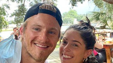 Hunger Games ' Alexander Ludwig Is Engaged to Girlfriend Lauren Dear