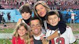 Tom Brady Celebrates With Oldest Son Jack After Big NFL Win in Precious Footage