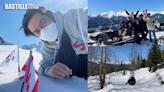 加拿大拍完劇玩餐飽 李敏鎬上雪山興奮插旗做飛車黨 | 心韓