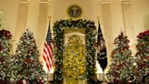 White House Christmas decor gives nod to 1st responders