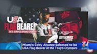 Miami's Eddy Alvarez Selected To Be Flag Bearer At Olympics