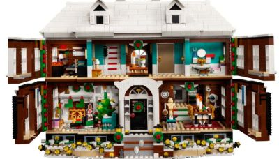 HOME ALONE LEGO Set Delivers Lots of Cheery Christmas Joy