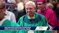 Monsignor removed over sex abuse allegation