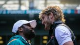 Jake Paul swiped Floyd Mayweather's cap and this is only going to get worse