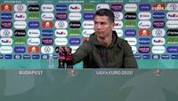 After Ronaldo snub, soccer stars swig Coca-Cola
