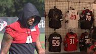 Deshaun Watson's jersey not for sale in Texans team shop
