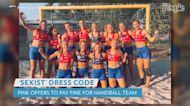 Pink Offers to Pay Fine for Norwegian Women's Handball Team Over 'Sexist' Bikini Dress Code