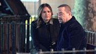 Benson Comforts Fin After Leon's Death - Law & Order: SVU