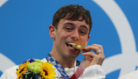 'I feel very empowered': Diver Tom Daley discusses being openly gay after winning gold