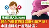 愛吃肉會濕氣重?流汗能排濕?幫身體排濕邪的10個關鍵問答