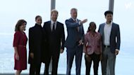 The Duke and Duchess of Sussex visit the One World Trade Centre in New York