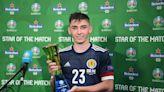 歐國盃 20歲蘇格蘭小將基莫亞一戰成名 首次國際賽正選閃耀中場