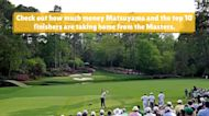 How much money each golfer won at the 2021 Masters at Augusta National