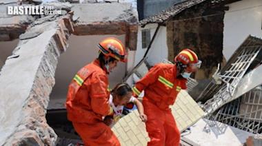 湖南汝城民居垮塌 釀5死7傷 | 兩岸