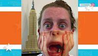 Macaulay Culkin's new 'Home Alone' mask is a real scream