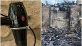 未插電吹風機「1動作後」放抽屜 房子竟整棟起火被燒光