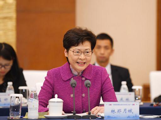林鄭月娥稱社會動亂期間「黑暴」行為傷害內地同胞感情 - RTHK