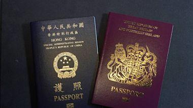 看不慣英國大方協助港人移居 中使館氣轟「偽善」