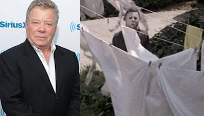 William Shatner thought it was a joke when somebody told him 'Halloween' uses a mask of his face for Michael Myers
