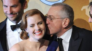 Amy Adams Watched The Godfather for the First Time — and Now Has a Crush on Robert De Niro